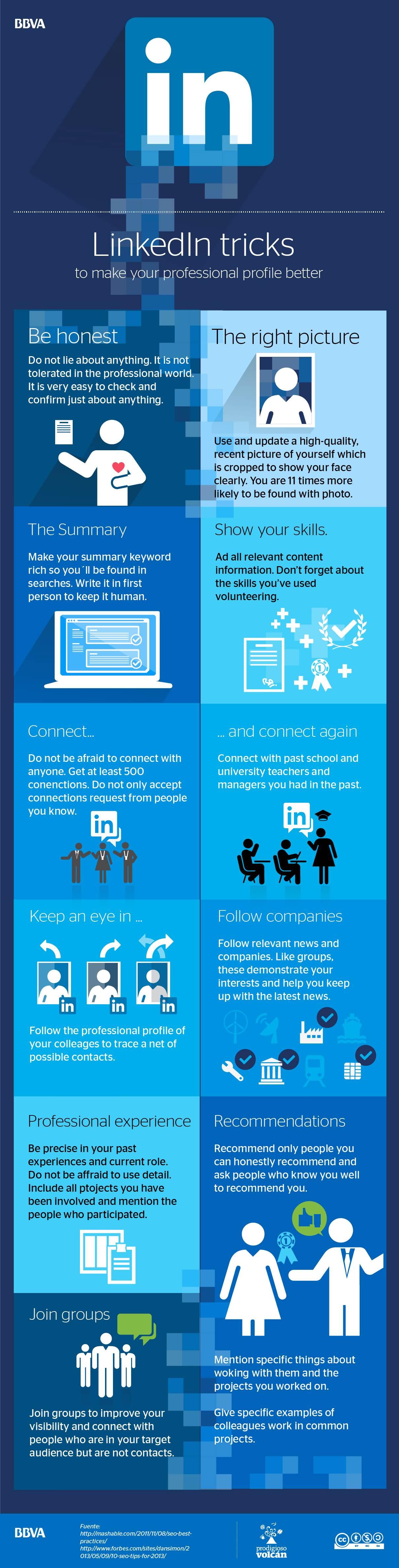 LinkedIn tricks