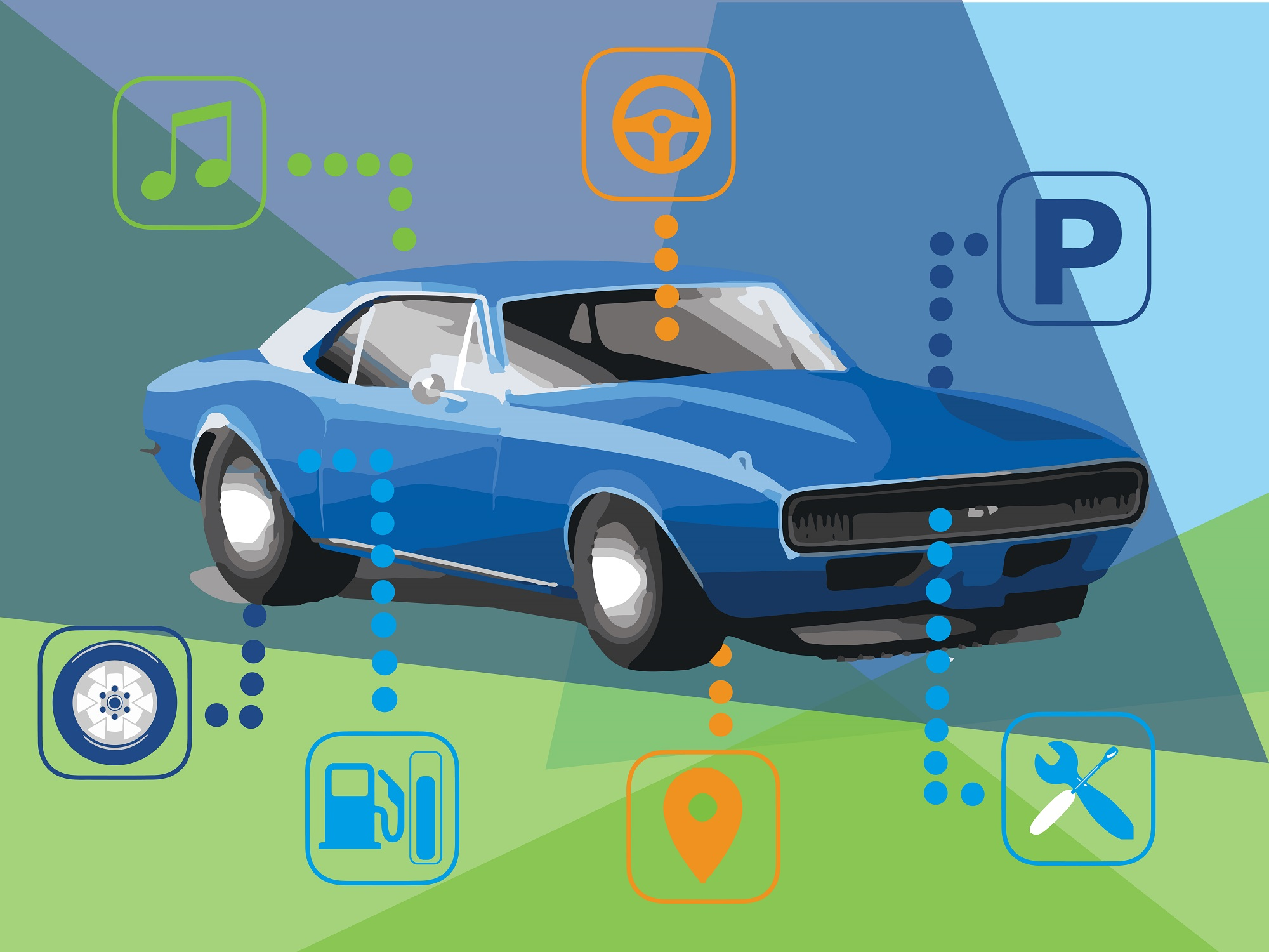 Apps for cars, a gold mine for developers