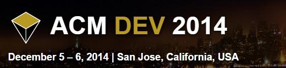 ACM Dev 2014