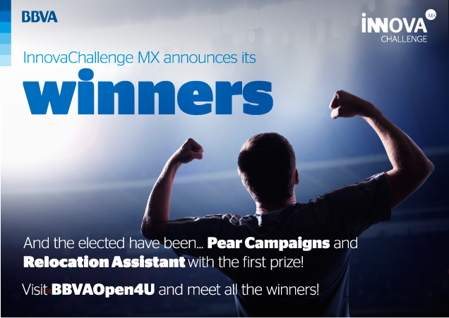 The apps 'Relocation Assistant' and 'Pear Campaigns' win InnovaChallenge MX