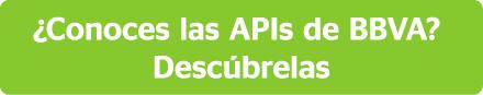 Descubre las APIs de BBVA