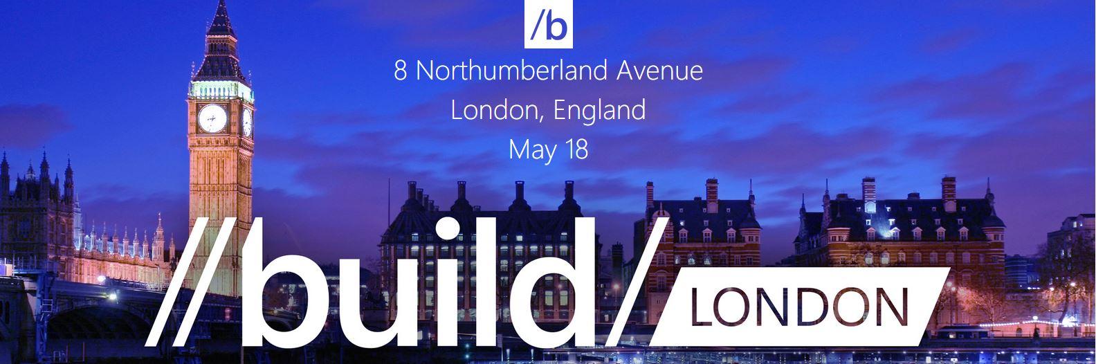 Microsoft /build15 Tour – London