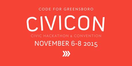 Code for Greensboro Hackathon – Civicon 2015