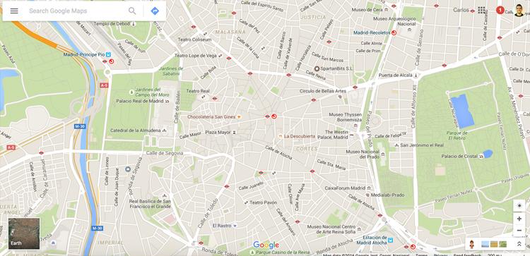 BBVA Open4u - webcomponents, google maps
