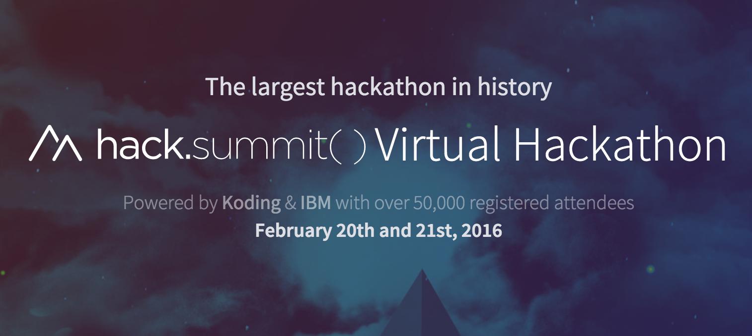 Hack.summit Virtual Hackathon