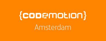 Codemotion Amsterdam 2016