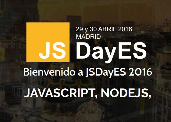 JSDaysES 2016