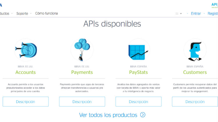 If you are a developer, try the BBVA's APIs