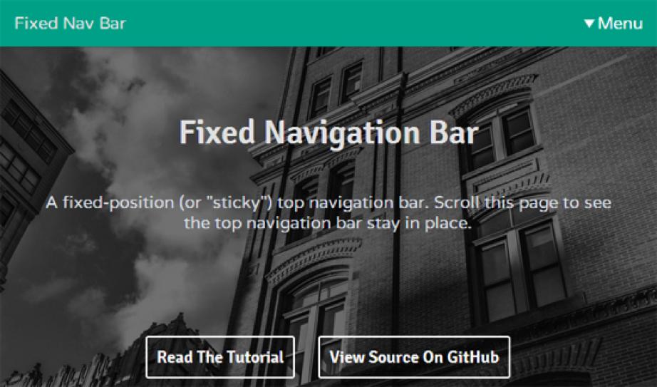 Ventajas y desventajas de usar 'fixed navigation bars' en el desarrollo de webs y apps móviles