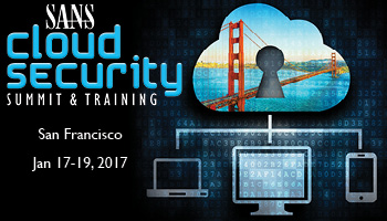 SANS Cloud Security