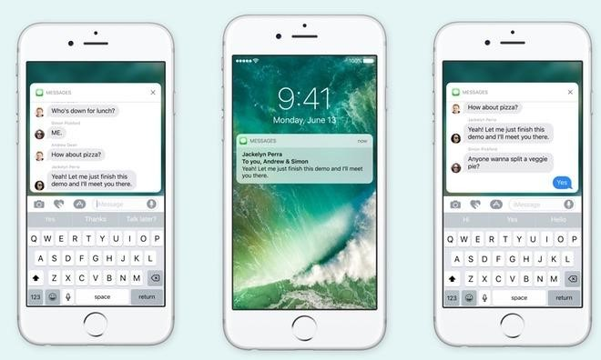 New notifications for iOS 10, tvOS and watchOS developers
