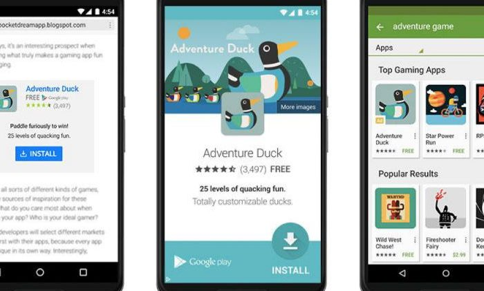 Google advertising formats for mobile websites and native apps