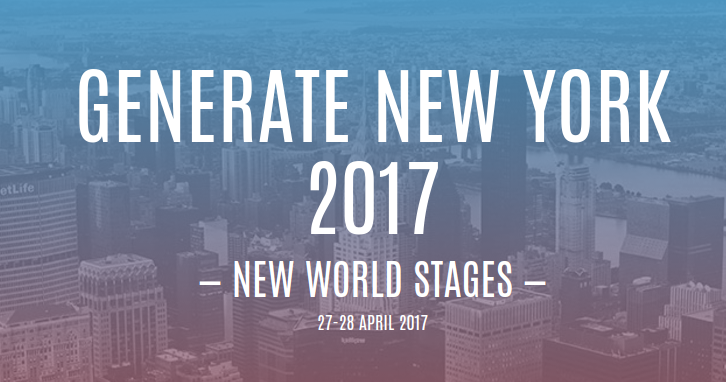 Generate New York 2017