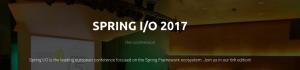 Spring I/O 2017