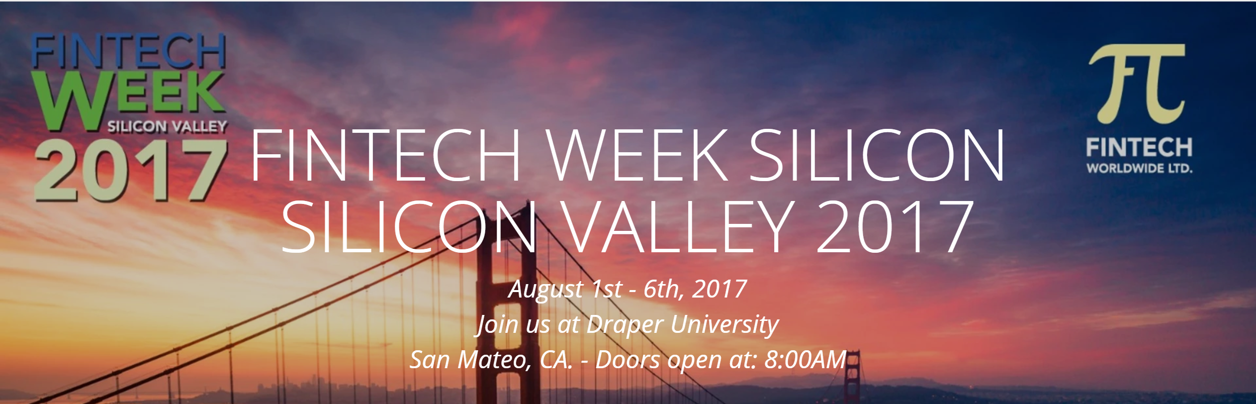 Silicon Valley Fintech Week 2017