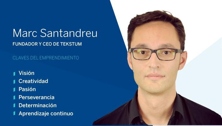Entrepreneur of the month: Marc Santandreu, founder of Tekstum
