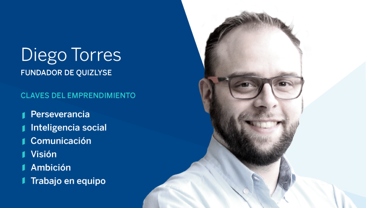 Entrepreneur of the month: Diego Torres, founder of Quizlyse