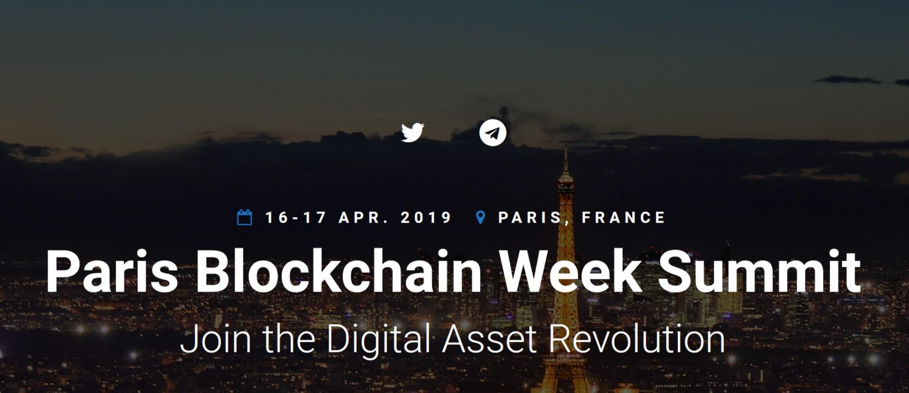 Paris Blockchain Week Summit