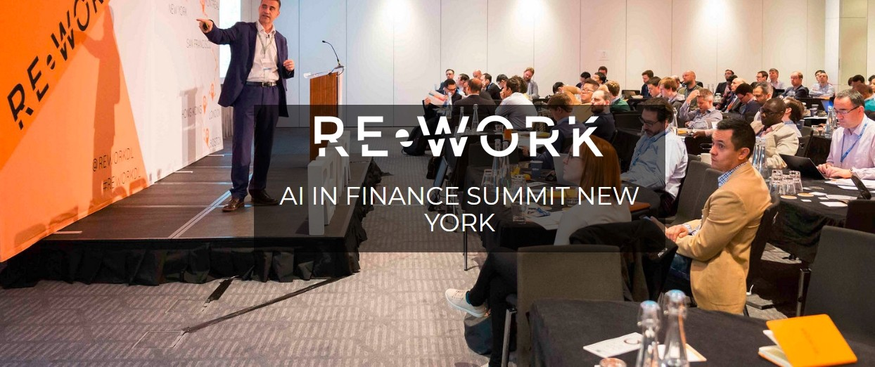 RE•WORK AI in Finance Summit
