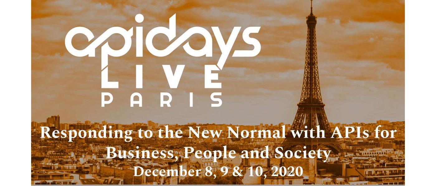 APIdays Live Paris 2020